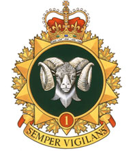 1 Canadian Mechanized Brigade Group Badge