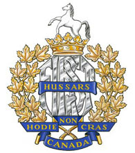 1st Hussars Badge