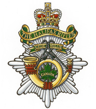 The Halifax Rifles Badge