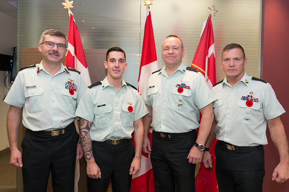 Canadian Army members