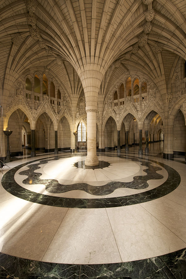 The Centre Block was rededicated on June 14, 2017 to the Fathers of Confederation and all Canadians who served in the First World War.