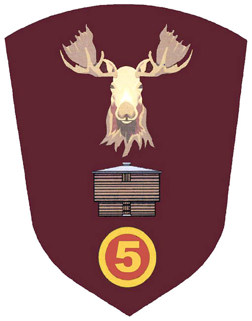Worn on the left sleeve of members' uniforms, the newly re-designed 5th Canadian Division Support Group uniform patch was unveiled on May 9 during the 60th anniversary gala dinner at 5th Canadian Division Support Base Gagetown..