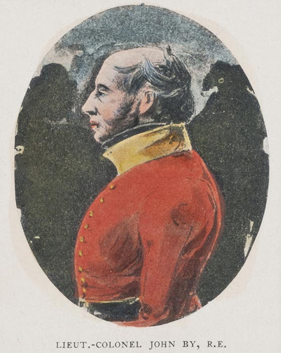 Lieutenant-Colonel John By, pre-1832, print, Bytown Museum, P153. Photo: Courtesy The Bytown Museum.