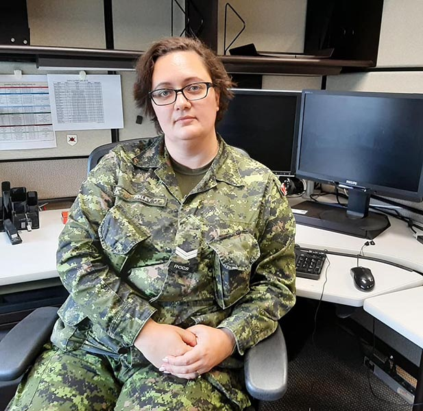 Corporal Andrea Pixley is Canada's first woman Cyber Operator