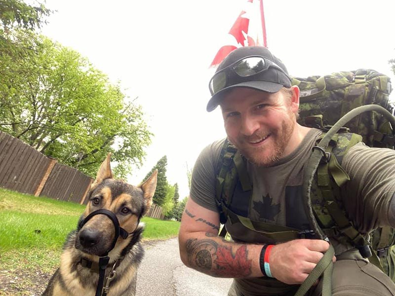 YouTuber and Canadian Army Reservist Matsimus
