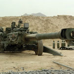 The M777 Howitzer is much lighter than other Howitzers.