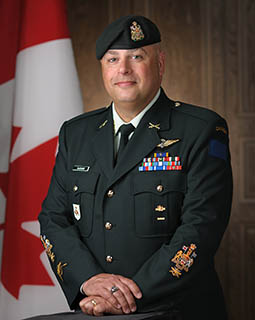 Chief Warrant Officer Terry Garand, Sergeant Major 2nd Canadian Division and Joint Task Force (East)