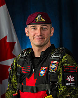 Warrant Officer Steve Ouimet