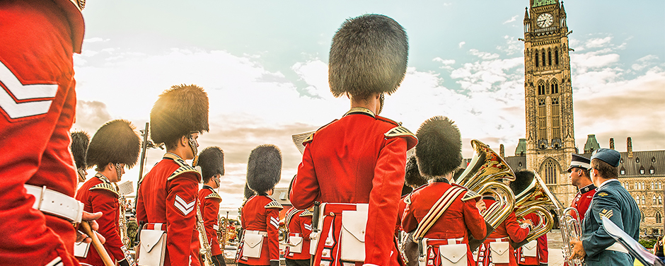 Slide - Ceremonial Guard members perform in the 2013 Fortissimo