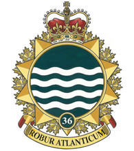 36 Canadian Brigade Group Badge