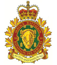 38 Service Battalion Badge
