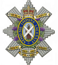 Black Watch Regiment badge