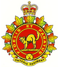 The Ontario Regiment crest