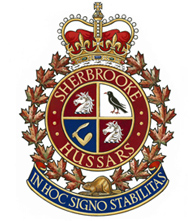 The Sherbrooke Hussars Badge