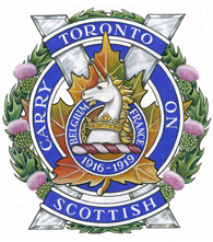 The Toronto Scottish Regiment crest