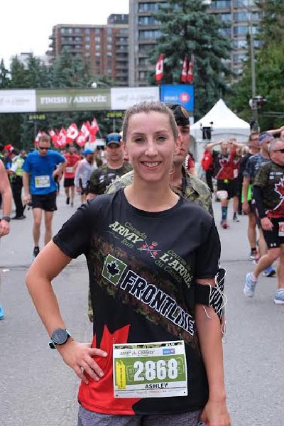 Army Run Ambassador Ashley Walton