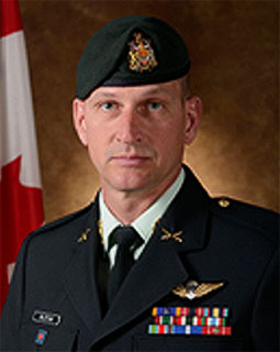 Chief Warrant Officer Keith Olstad, 4th Canadian Division